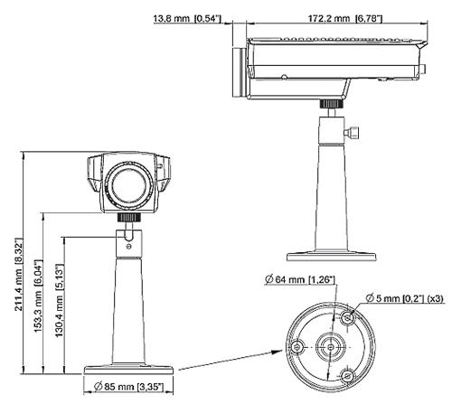 AXIS Q1755 50HZ POE - Kamery kompaktowe IP