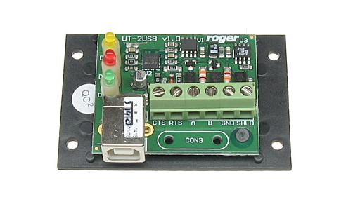 ROGER UT-2USB - interfejs USB-RS485 - Interfejsy komunikacyjne