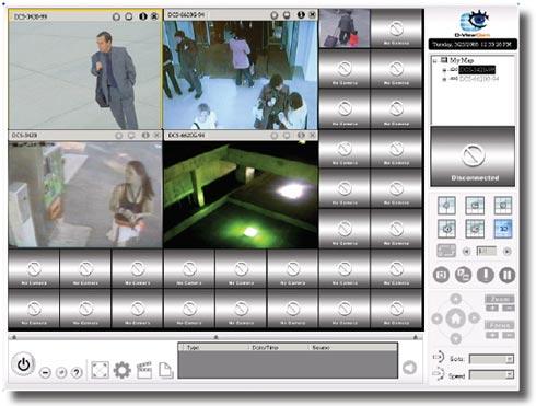 D-Link DCS-6815 - Kamery obrotowe IP
