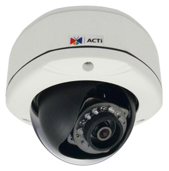 ACTi E85 - Kamery kopułkowe IP