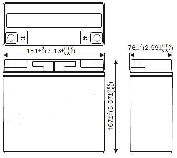 LC-ZZMW18-12 / LC-ZZMW18-12F - Akumulatory