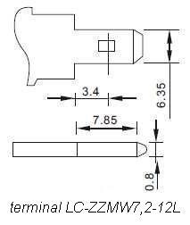LC-ZZMW7,2-12 / LC-ZZMW7,2-12L - Akumulatory