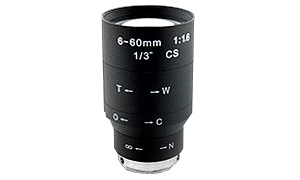 Obiektyw 6-60mm